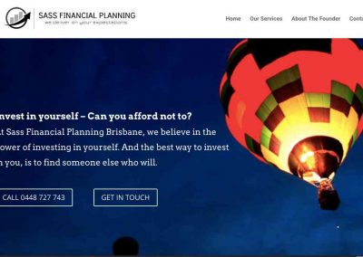 SASS Financial Planning